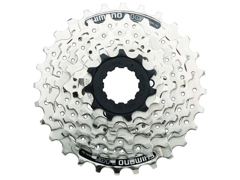 Кассета велосипедная Shimano Acera/Altus 7х11-28 серебристая ACSHG417128 5-586287