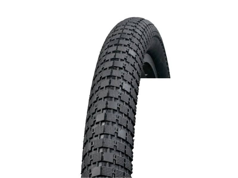 Велопокрышка EXCEL 20x2.35 слик, черная E503