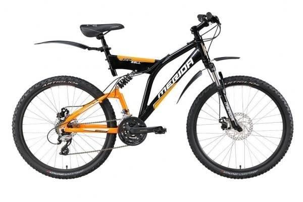 Двухподвесный велосипед Merida Fireball