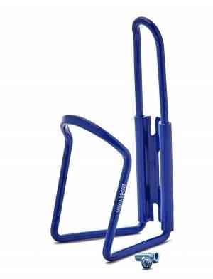 Флягодержатель Vinca sport, алюминиевый, синий, 11 dark blue