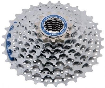 Кассета велосипедная Shimano Altus, 8x11-34Т серебристая ACSHG308134P 5-587444