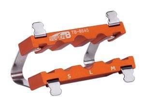 Накладка в тиски для осей SUPER B (Premium) TB-8645, 9,10,12мм, торговая упаковка, TB-8645
