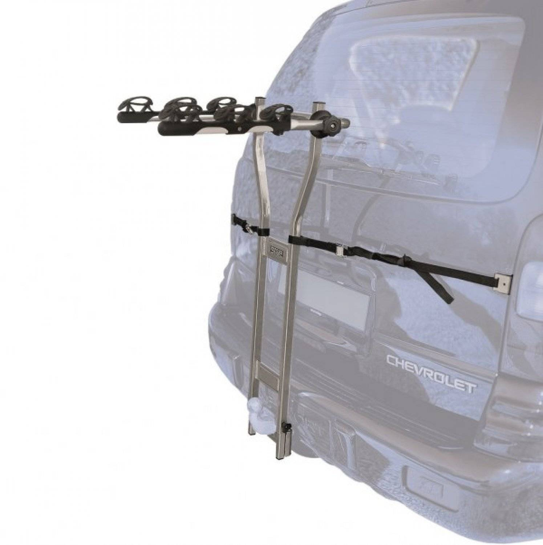 Автобагажник Peruzzo на фаркоп TRENTO сталь, для 3-х видов, фиксация велосипеда, 384