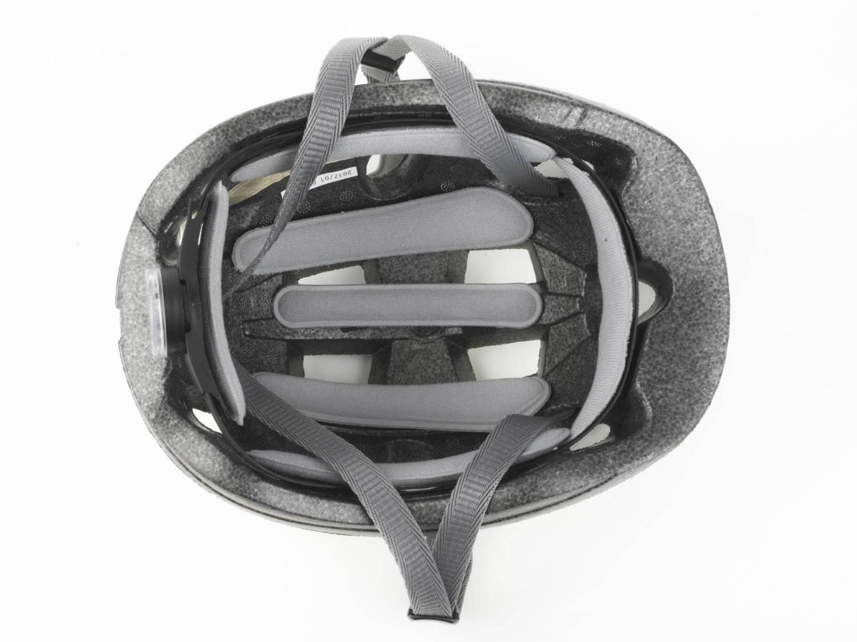 Шлем детский AUTHOR Mirage 168, светодиодный фонарь, 12 отверстий, красный, 48-54см, 8-9089983, фото 2