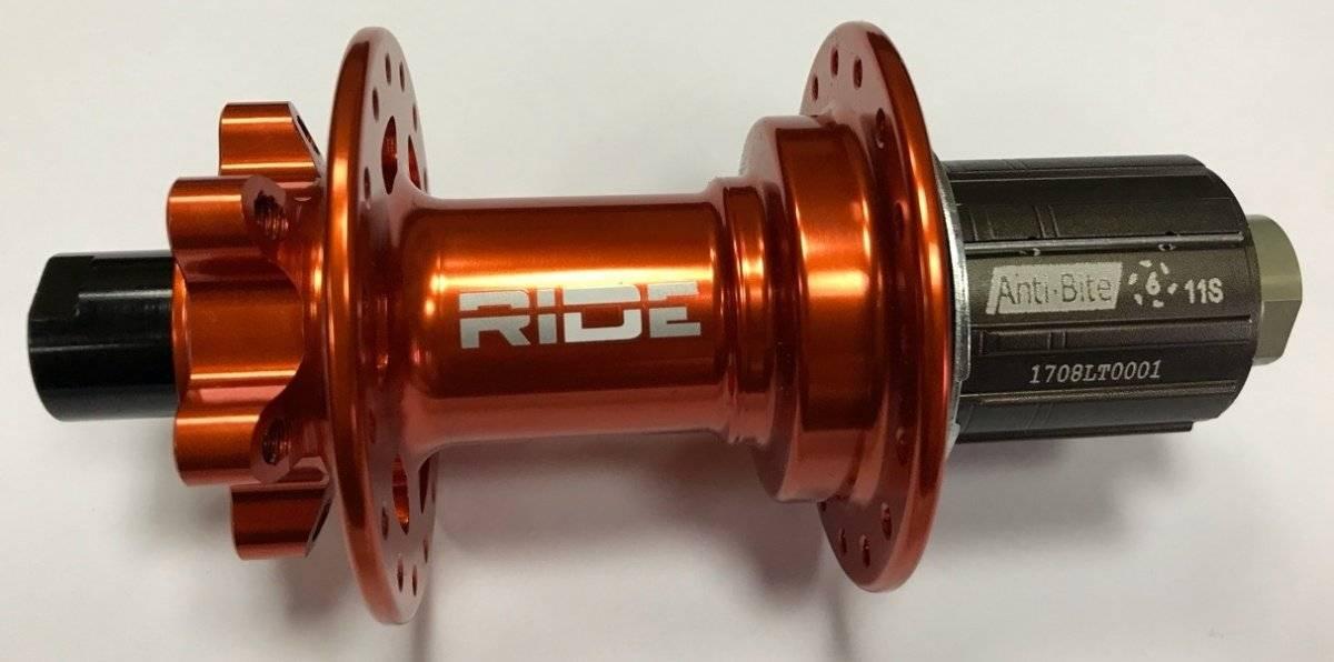 Втулка задняя RIDE Enduro, 32h, 12x142 мм Anti Bite, оранжевый, RREAB3212X142OR, фото 1