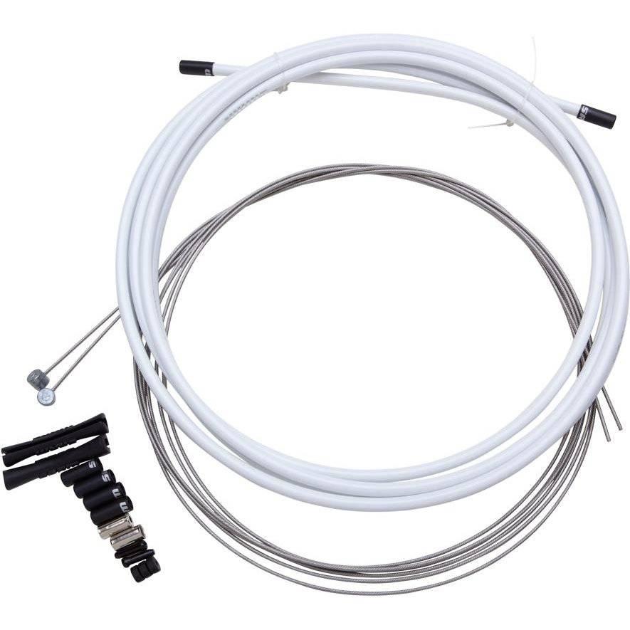 Набор тросов и рубашек для переключения SRAM Shift Cable kit SS 4 мм, белый 00.7115.013.020