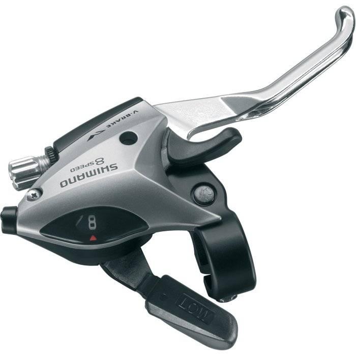 Переключатели для велосипеда Shimano Acera 3х8скоростей ESTEF50P8AS 2-288