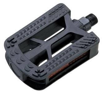Педали пластиковые черные 95*70мм MX-P612