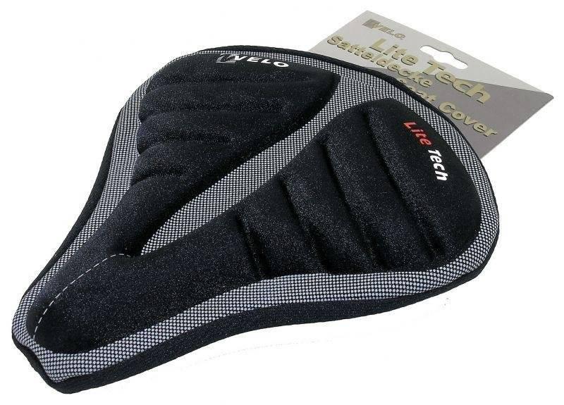Фото - Чехол на седло VELO Lite Tech гелевый анатомический большой спортивные сумки и чехлы