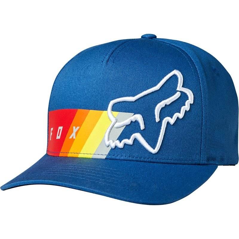 Велобейсболка Fox Draftr Flexfit, L/XL, синий, 19555-002-L/XL бейсболка классическая billabong walled stretch 2204 l xl