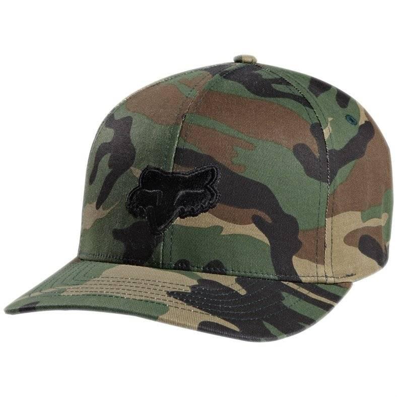 Велобейсболка Fox Legacy Flexfit Hat Camo, XS/S, 58225-027-XS/S бейсболка dc shoes smashers camo rrp6 o s