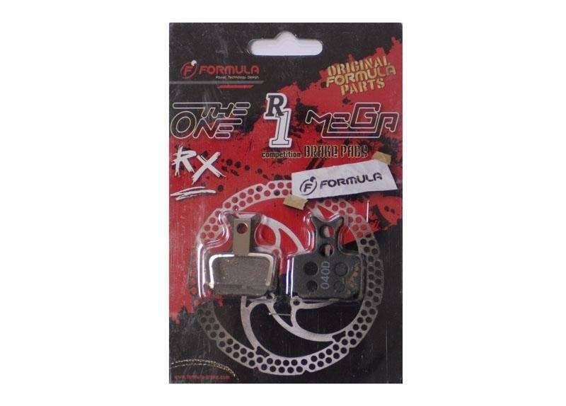 Колодки тормозные Formula Mega-The One-R1-RX Semi-Metal-alu тормозные колодки a2z formula mega
