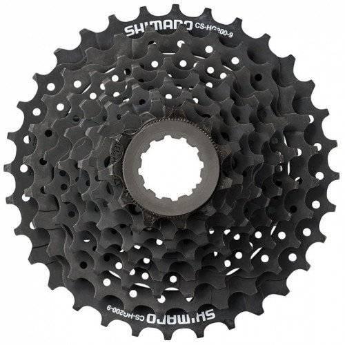 Кассета SHIMANO, 9 скоростей, ACSHG2009134 ALTUS, 9х11-34 HG, черно-коричневая, 2-8034
