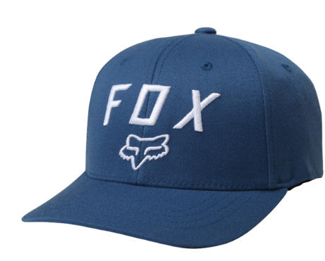 Бейсболка подростковая Fox Youth Legacy Moth 110, синий, 21022-157-OS