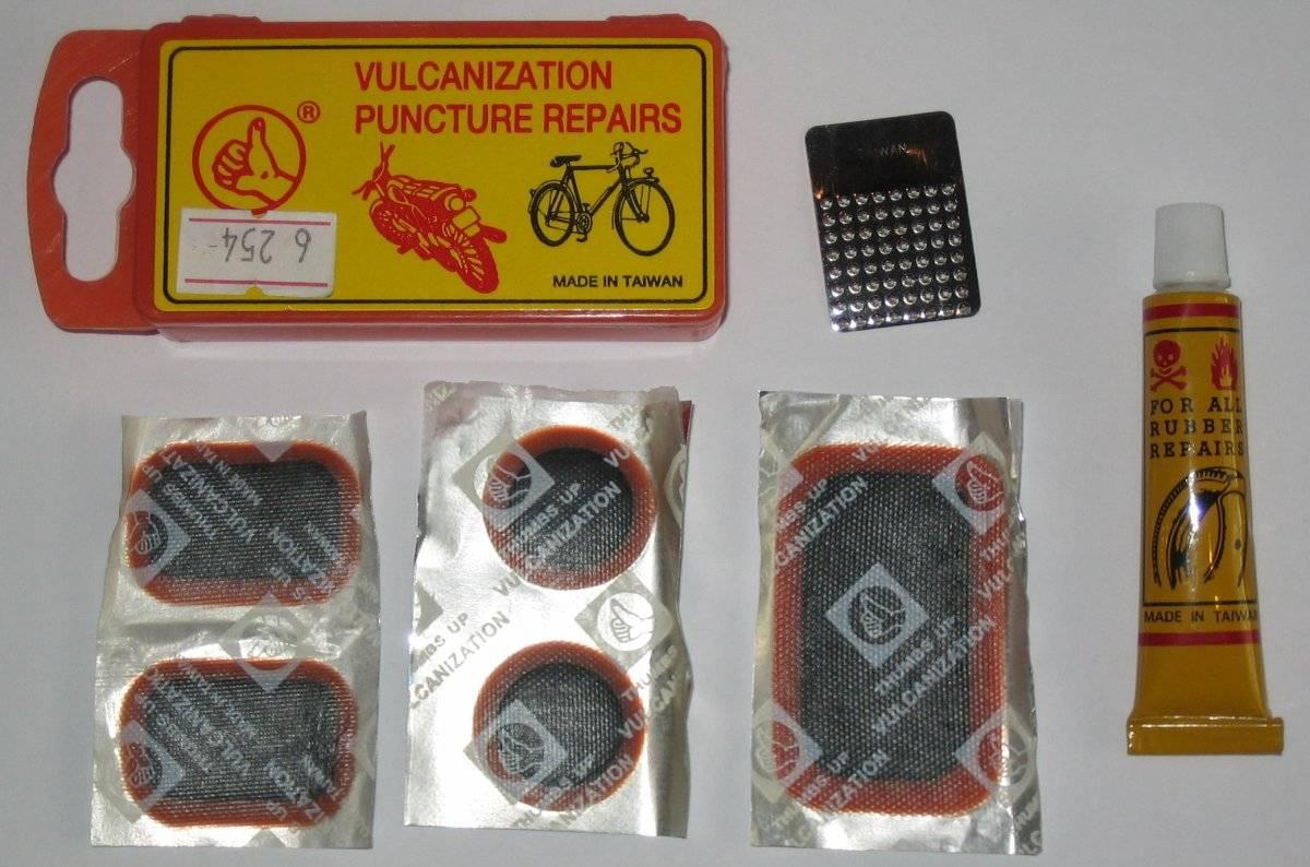 Аптечка заплатки, клей, ниппель, металлическая тёрка, 6-648254, фото 2