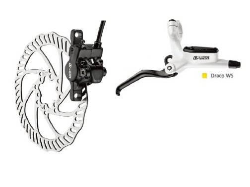 Тормоз TEKTRO DRACO WS, дисковый гидравлический задний, под женскую руку, DRACO WS/REAR/WHITE