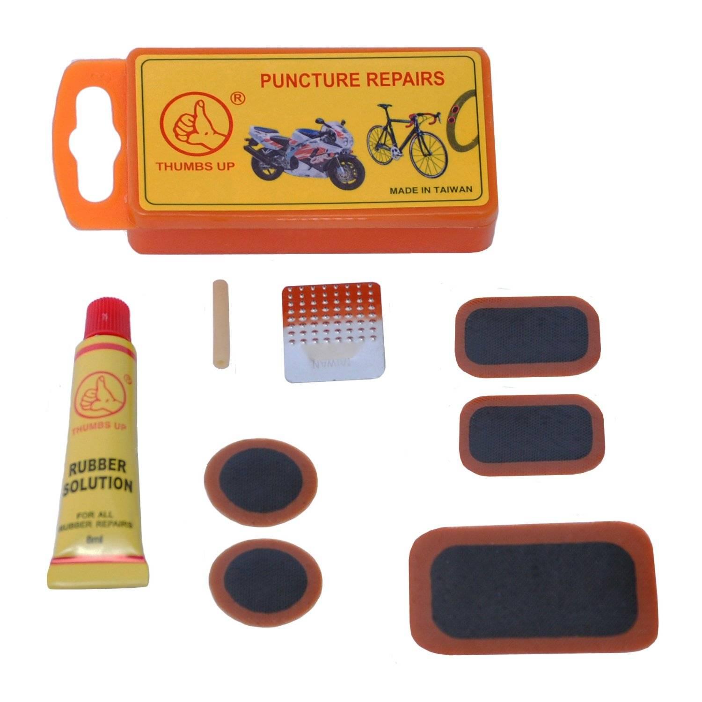 Аптечка заплатки, клей, ниппель, металлическая тёрка, 6-648254, фото 1