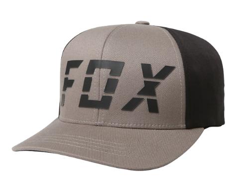 Бейсболка подростковая Fox Youth Smoke Blower Flexfit, серый, 21016-006-OS