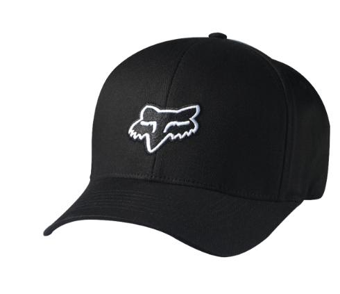 Бейсболка подростковая Fox Youth Legacy Flexfit Hat, черный, 58231-001-OS