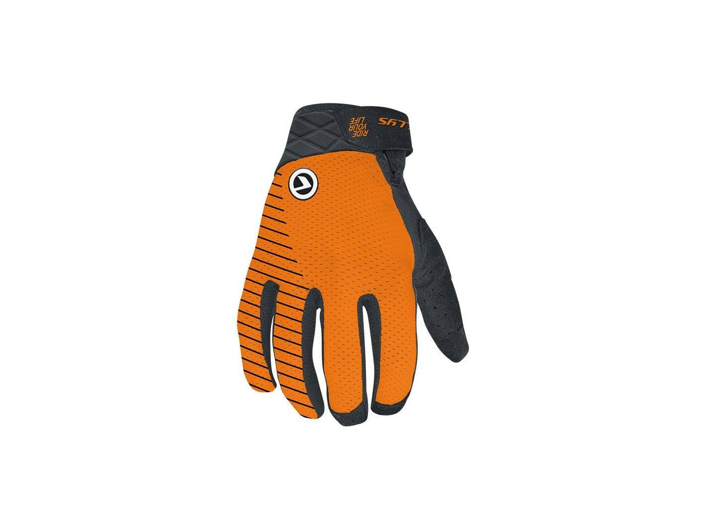 лонгслив printio relic Велоперчатки KELLYS RELIC Long, оранжевый