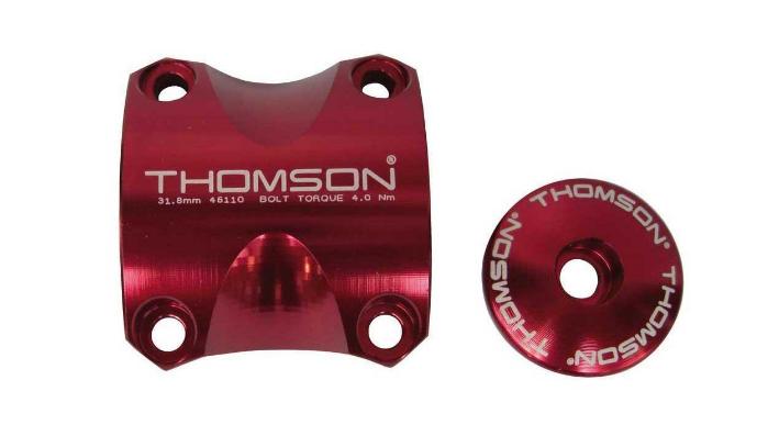 Крышка выноса Thomson X4 Dress Up Kit Faceplate/Top Cap/12 bolts, красный, SM-A004-RD болты для выноса thomson replacement stem bolt kit черный sm h001 bk
