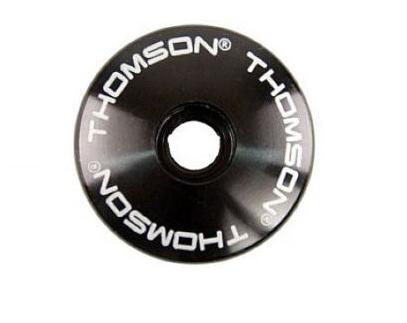 Крышка рулевой колонки Thomson Stem Cap 1-1/8, черный, SM-A001-BK болты для выноса thomson replacement stem bolt kit черный sm h001 bk