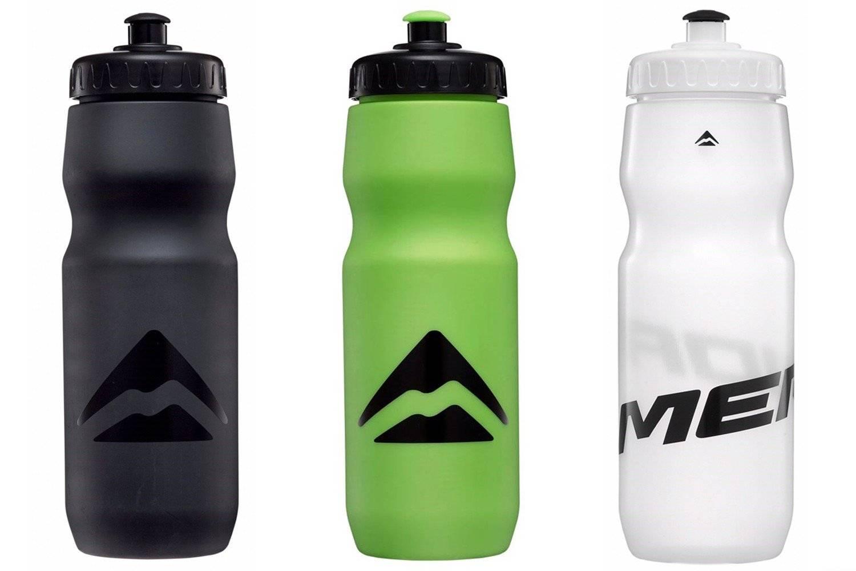 Фляга для воды велосипедная, Merida CSB-547L 800CC Matt Merida Green/Shiny Black 2123003091, 800мл.
