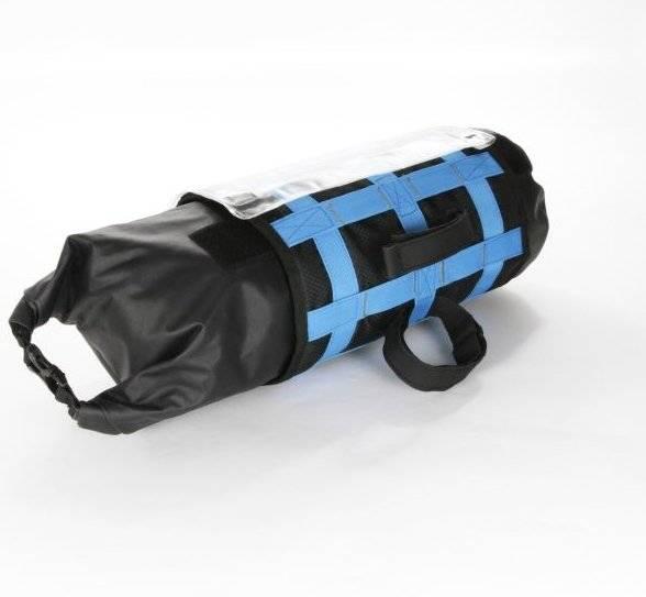 Велосумка M-WAVE на руль, походная, 59х23 см, объемом 10 литров, влагозащищенная, черная, 5-122631, фото 2