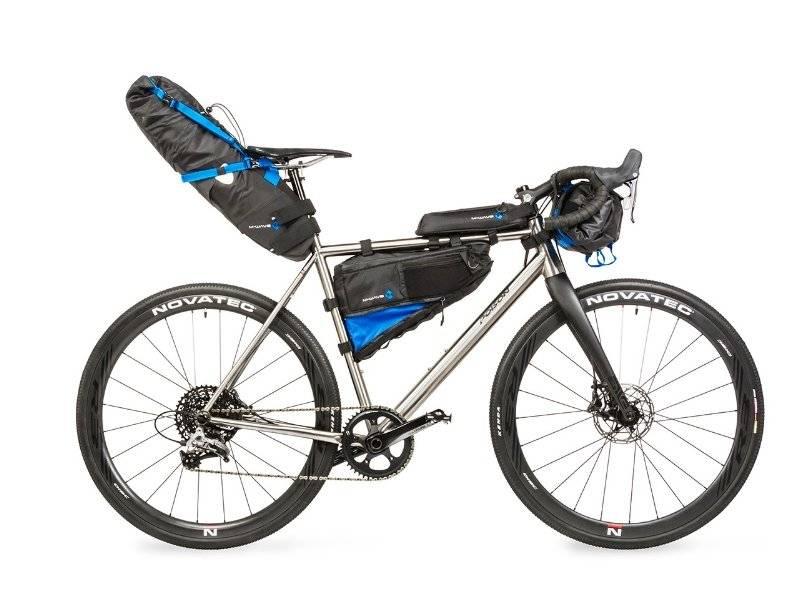 Велосумка M-WAVE на руль, походная, 59х23 см, объемом 10 литров, влагозащищенная, черная, 5-122631, фото 5