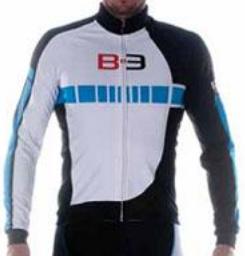 Велокуртка Biemme B-3, Бело-голубой, A30D1062M, 2018
