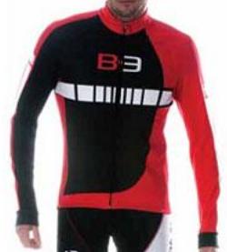 Велокуртка Biemme B-3, Бело-красно-черный, A30D1062M, 2018