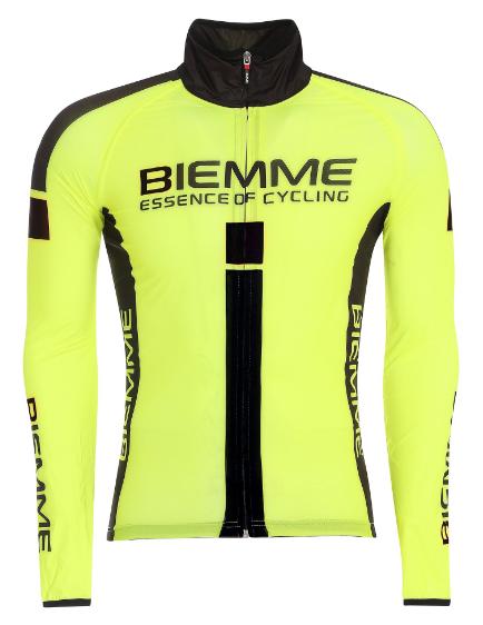 Велокуртка Biemme JAMPA2 Waterproof желтый/черный, A31J2032M, 2019