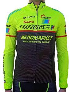 Велокуртка Biemme JAMPA Waterproof Team Velomarket'18, A31B0182M, 2018
