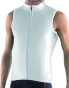 Велобезрукавка Biemme SOUL Waterproof, белый, A32C2012M, 2018