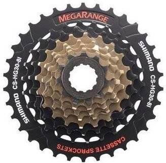 Кассета велосипедная Shimano Altus 8х11-30 (AN) черно-коричневая ACSHG318130P 5-5821213
