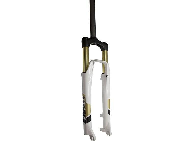 Вилка велосипедная амортизационная MODE MD-999AT-L/O, 26, шток 1-1/8, ход 80-100мм, MD-999AT-L/O