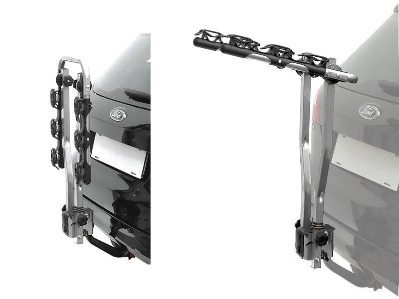 Багажник автомобильный Peruzzo AREZZO на фаркоп, откидной, для 3х велосип. (Италия) 0-500667-3
