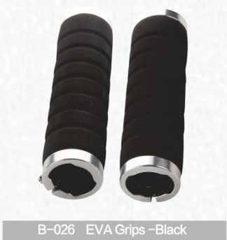 Грипсы для руля Kivi, Eva, черный, B-026