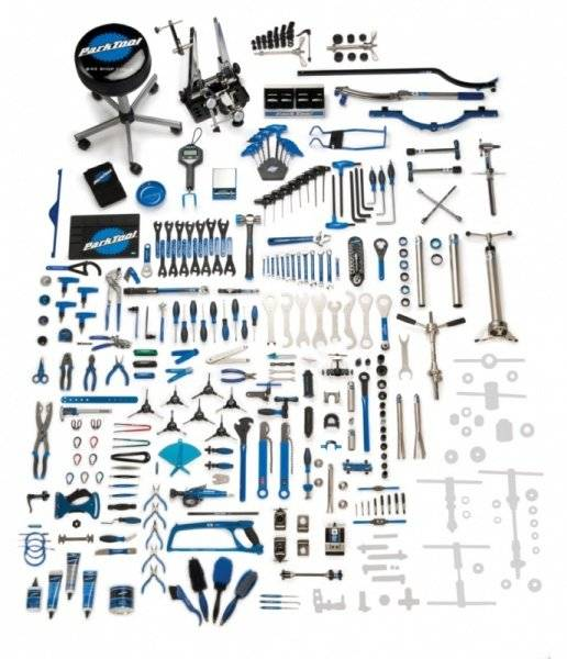 Фото - Набор инструментов Park Tool, 243 инструмента, 4 ящика, PTLBMK-243 аксессуары для инструментов