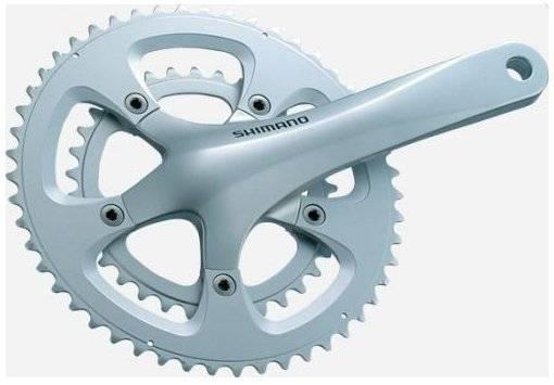 Шатуны для велосипеда Shimano R600 170 мм, 34/50 зубов, 10 скоростей, FC-R600, фото 1