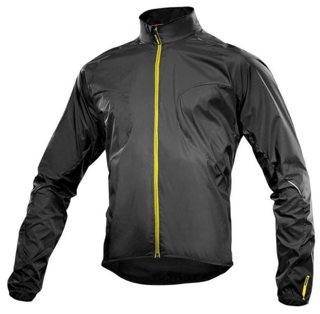 Куртка велосипедная MAVIC AKSIUM, черная, 393417, 2017