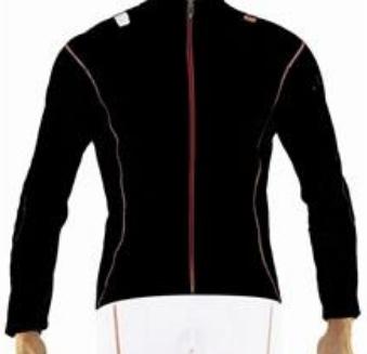 Велокуртка Biemme PURE, Черно-красный, A30C1022M, 2017