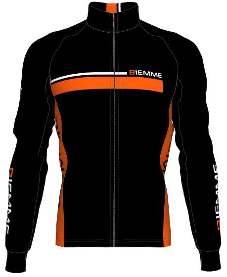 Велокуртка Biemme Race, черный/оранжевый, A30F1042M, 2017 СВЕРИТЬ АРТИКУЛ