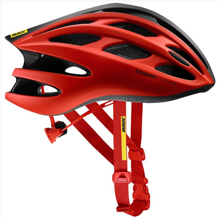 Каска велосипедная MAVIC COSMIC ULTIMATE II'18, красный-черный, 401927, фото 1