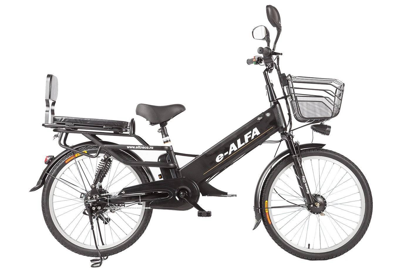 Велогибрид Eltreco e-ALFA L 350W, 010823-0083, фото 1