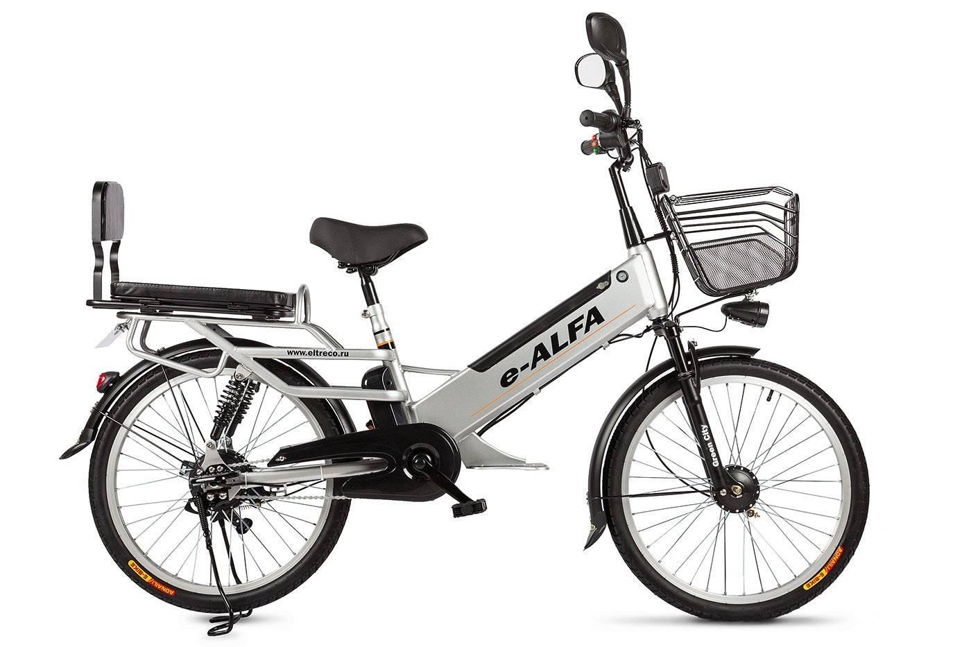 Велогибрид Eltreco e-ALFA L 350W, 010823-0083, фото 3