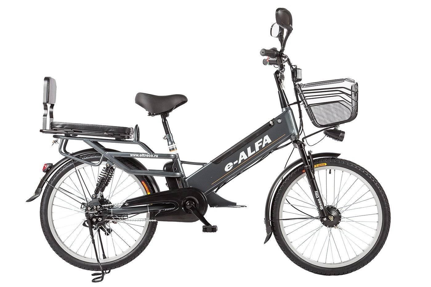 Велогибрид Eltreco e-ALFA L 350W, 010823-0083, фото 5