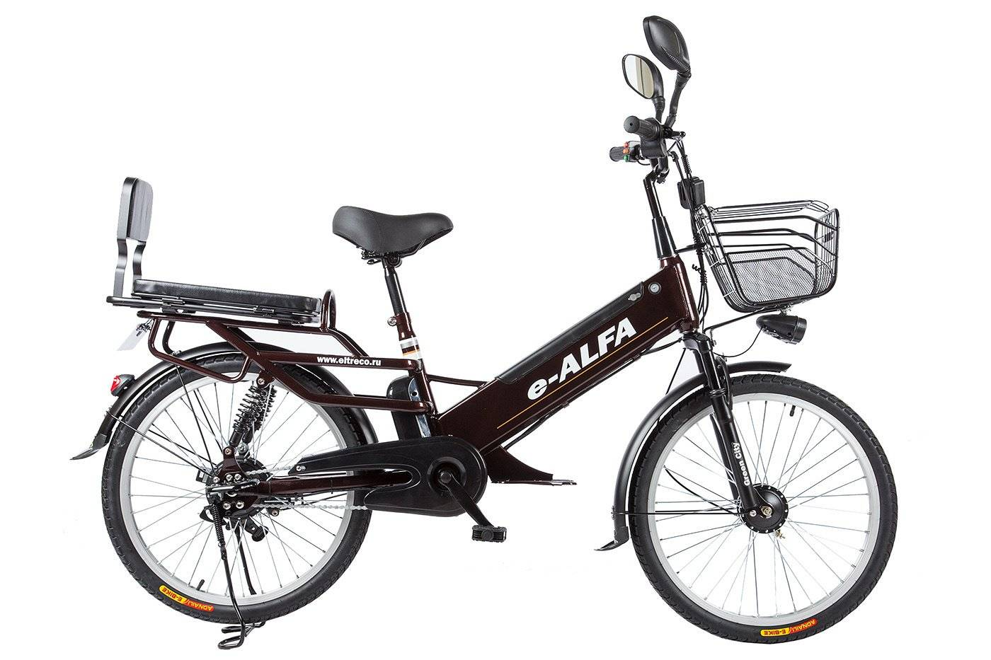 Велогибрид Eltreco e-ALFA L 350W, 010823-0083, фото 4