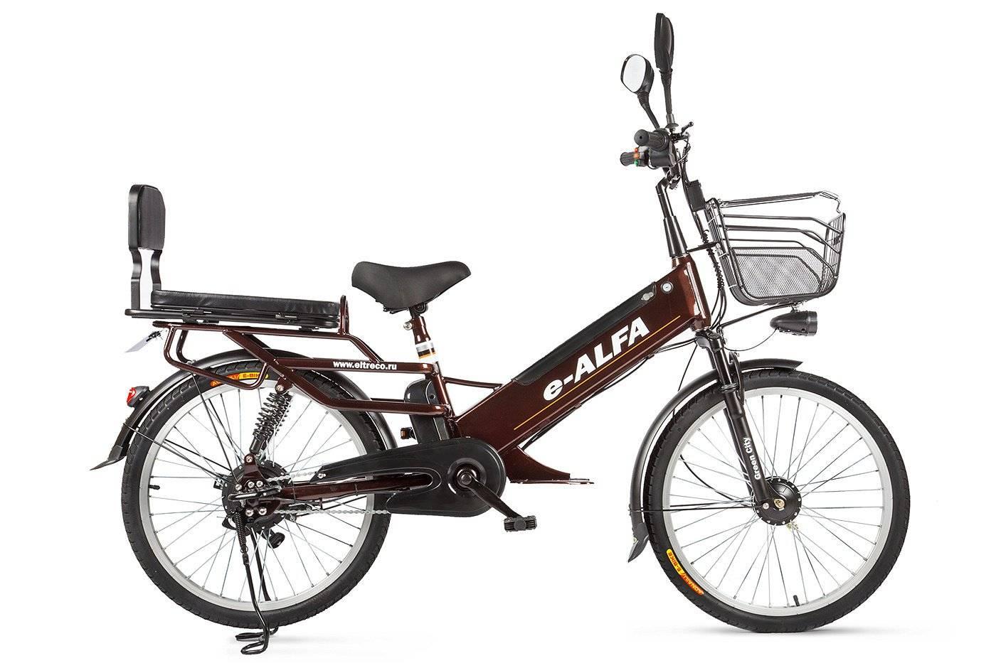 Велогибрид Eltreco e-ALFA GL 500W, 010824-0248, фото 1