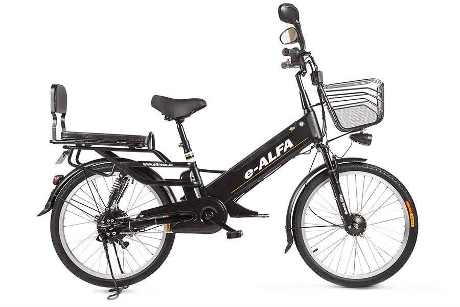 Велогибрид Eltreco e-ALFA GL 500W, 010824-0248, фото 7